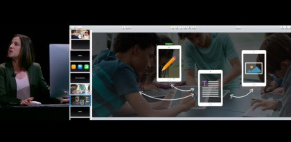 Apple Keynote Speech 2016 announcing the free real time collaboration tools available in Apple iWork suite