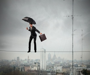 Great Project Managers are like umbrellas and ensure team are protected