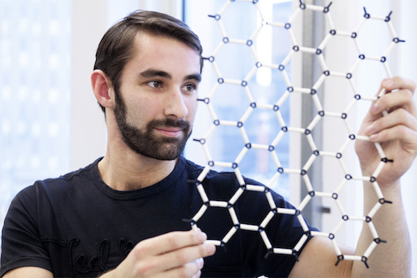 Graphene honeycomb being pioneered at University of Manchester in Greater Manchester innovation