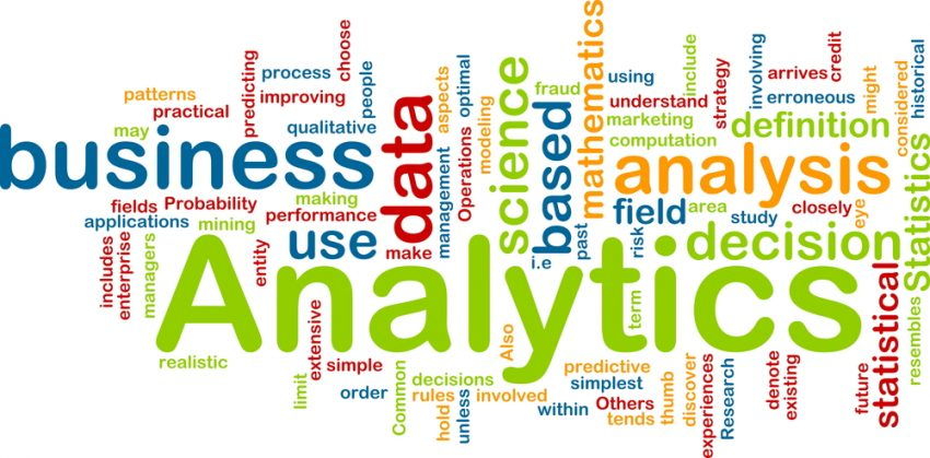 Data analytics is key to decision making and team effort